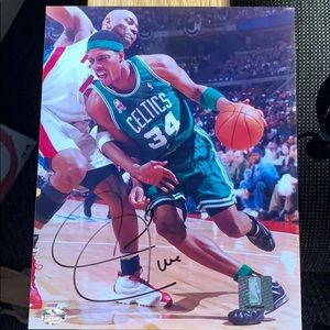Autographed Paul Pierce Photograph
